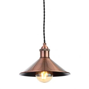 Edit Guard Easy Fit Ceiling Pendant Shade - Antique Copper
