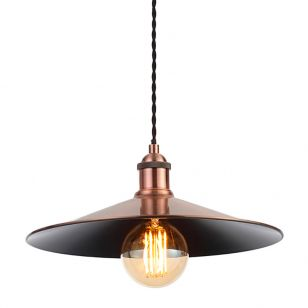 Edit Guard Easy Fit Large Ceiling Pendant Shade - Antique Copper