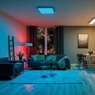 SmartHome Belaja LED Bluetooth Floor Lamp - White