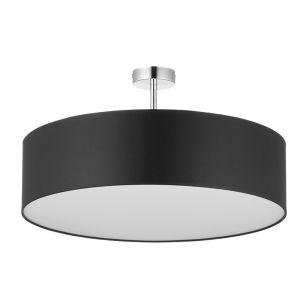 Edit Basic 60 Semi-Flush Ceiling Light - Black