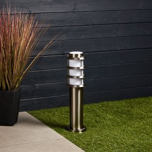 Edit Stirling Outdoor Post Light - Stainless Steel