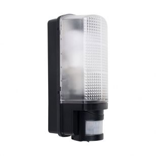 Edit Griffin Outdoor Wall Light with PIR Sensor - Black