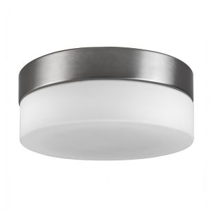 Edit Alex Flush Ceiling Light - Brushed Chrome