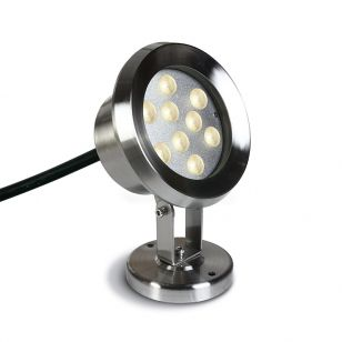 Sub 9W LED Underwater Spotlight - Stainless Steel