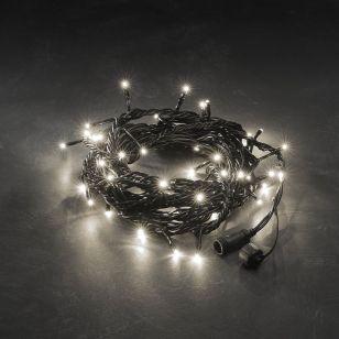 Konstsmide 5M Connectable Warm White LED String Lights - 50 Lights