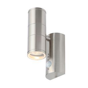 Edit Coastal Islay Outdoor Up & Down Wall Light PIR Sensor - Stainless Steel