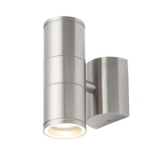 Edit Coastal Islay Outdoor Up & Down Wall Light - Stainless Steel