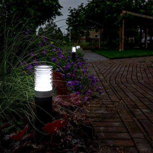 Techmar Plug and Play - Arco 40 Smart Plus LED Outdoor Bollard Light - Black