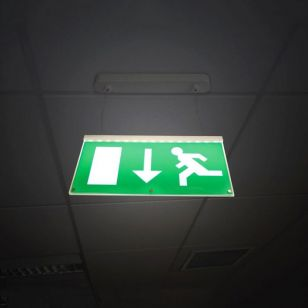 Eterna 2.3W LED Emergency Exit Sign