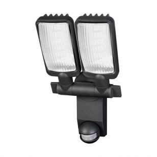 Premium City 30W Daylight LED Twin Floodlight with PIR Sensor