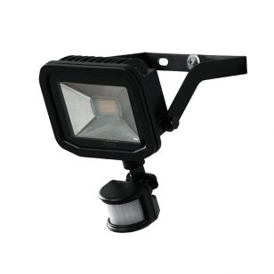 Luceco Slimline 15W Daylight LED Guardian Floodlight with PIR Sensor