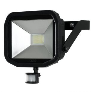 Luceco Slimline 38W Daylight LED Guardian Floodlight with PIR Sensor