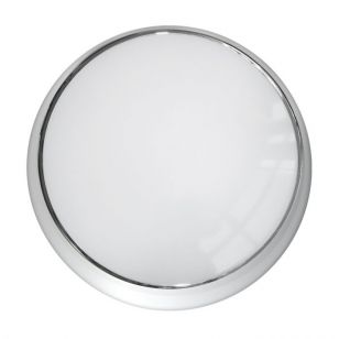 Eterna Carina Colour Selectable LED Emergency Flush Light - Polished Chrome