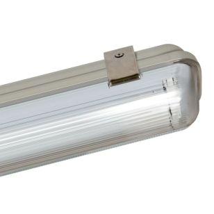 Crompton Manto Weatherproof LED T8 Batten - 5ft Single