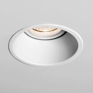 Astro Minima Deep Recessed Fixed Fire Rated Downlight - Matt White