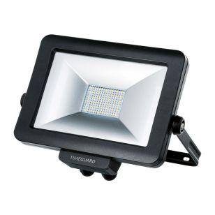 Timeguard Pro 30W Cool White LED Rewireable Floodlight - Black