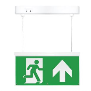 Eterna 2.3W LED Self Test Emergency Exit Sign