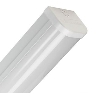 60W Cool White LED Batten- 5ft Twin