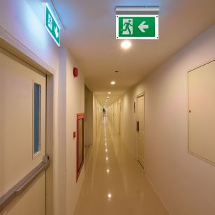 Knightsbridge 4W Daylight LED Emergency Exit Sign