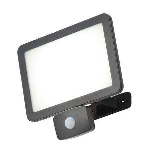Coastal 50W Daylight LED Floodlight with PIR sensor