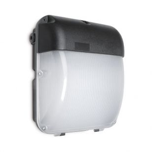 30W Cool White LED Outdoor Wall Pack Light with Dusk To Dawn Sensor
