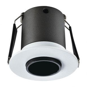 Integral Lux Mini 3.3W Warm White LED High CRI Fixed Downlight - White