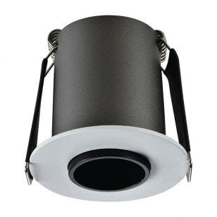 Integral Lux Hi-Brite 9W Warm White Dimmable LED High Output Fixed Downlight - White