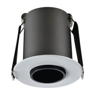 Integral Lux Hi-Brite 9W Cool White Dimmable LED High Output Fixed Downlight - White