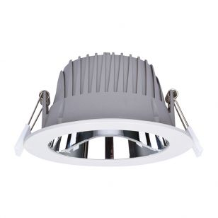 Integral Recess Pro 29W Cool White Dimmable LED Low Glare Fixed Downlight - 150mm