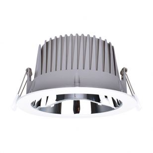 Integral Recess Pro 35W Cool White Dimmable LED Low Glare Fixed Downlight - 200mm