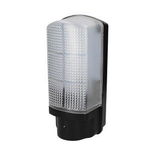 Hawk 7W Cool White LED Bulkhead with Dusk to Dawn Sensor