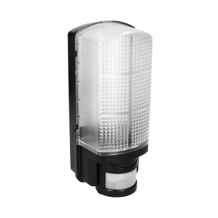 Hawk 9W Cool White LED Bulkhead with PIR Sensor