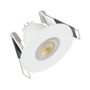 Integral Evofire Mini Fire Rated Low Profile Fixed Downlight - White
