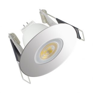 Integral Evofire Mini Fire Rated Low Profile Downlight - Polished Chrome