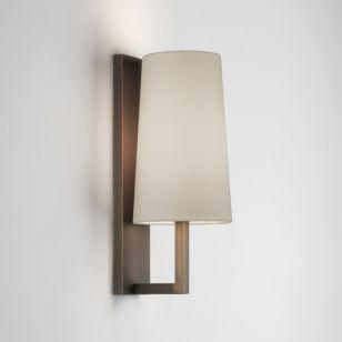 Astro Riva 350 Bathroom Wall Light - Bronze