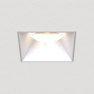 Astro Proform TL 11.9W Warm White LED Square Downlight - Textured White