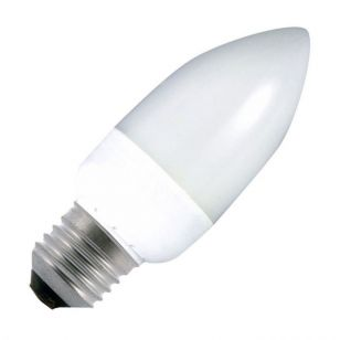 9W Low Energy Candle Bulb - Screw Cap