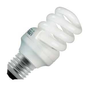 15W Compact Spiral - Screw - Warm White