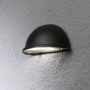 Konstsmide Torino Outdoor Wall Washer Light -  Black