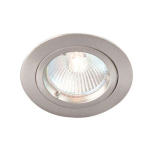 Robus Fixed Downlight - Satin Chrome