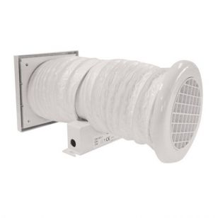 Mini Vent Toilet and Bathroom Extractor Fan with Timer