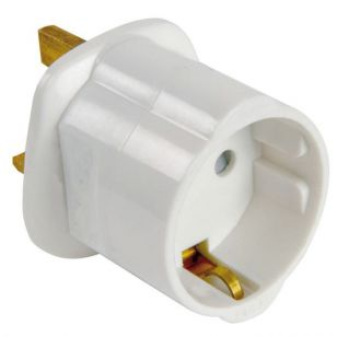 Travel Adaptor - Europe To UK
