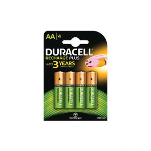 Duracell AA Rechargeable Batteries - Pack of 4