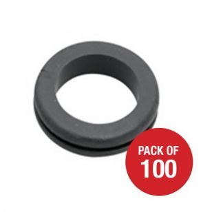 CED Open Rubber Grommets - 20mm - Pack of 100