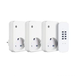 WiFi and Remote Control Sockets - Pack of 3