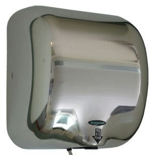 1.3kW Hand Dryer - Polished Stainless Steel