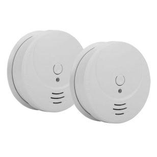 1 Year Battery Smoke Alarm - Pack of 2