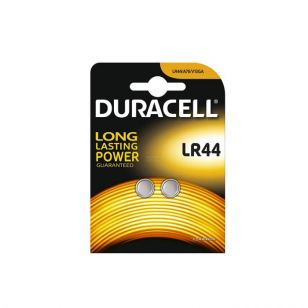 Duracell Alkaline LR44 Coin Battery - Pack of 2
