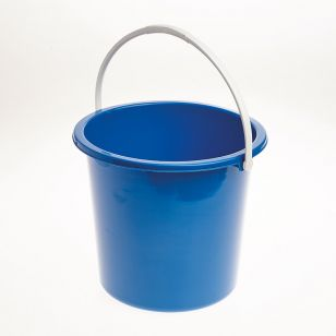 Blue Plastic Bucket - 2 Gallon