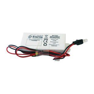 Eterna Li-Ion 3.2V 1500mAh Stick Emergency Replacement Battery